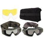 Revison veiligheidsbril met extra glazen en beschermhoes