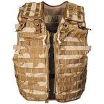 Britse Tactical load carrying vest, Molle, DPM desert
