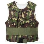 Brits Body armour combat vest FBP met soft armour fillers