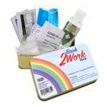 BCB Back to work kit (mondmasker/handgel/handschoenen/doekjes/thermometer)