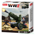 Sluban WWII 4in1 Army model A M38-B0678A