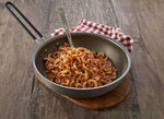 Trek 'n Eat, Vegetarische pasta bolognese, outdoor trekking meal