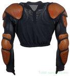 FR riot gear body protector vest