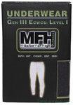 MFH US onderbroek, lang, level I, Gen III, zwart