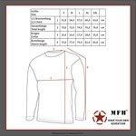 MFH US onderhemd, lange mouw, level I, Gen III, zwart