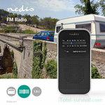 Nedis ultra compacte AM/FM-radio