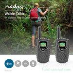 Nedis TK0800 PTT/VOX communication portofoon set, tot 8 km