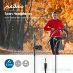 Nedis WD8001 in-ear koptelefoon