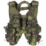 Tsjechisch Tactical vest met tassen, CZ M95 camo