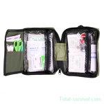 Mil-tec First Aid medic bag Molle 48-delig assortiment, olijfgroen