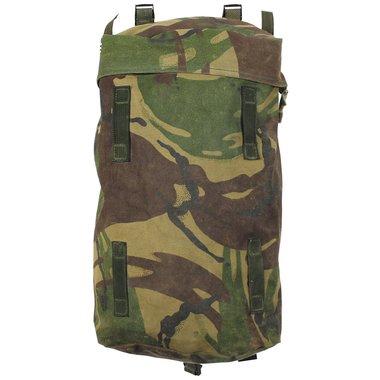 Zijvak tas van de PLCE Bergen-rugzak in DPM, origineel Brits leger