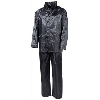 Regenpak 2-delig, zwart
