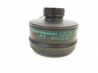 Maskpol filter FP-5 (A2B2E2K1-P3) met RD40 schroefdraad
