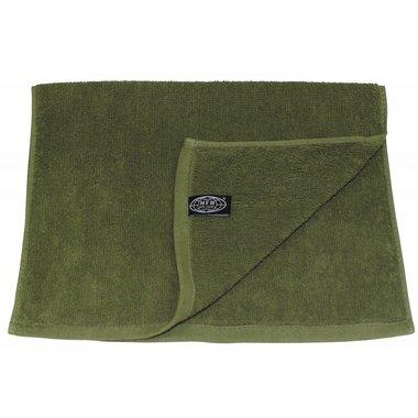 Bad handdoek legergroen, 50 x 30 CM