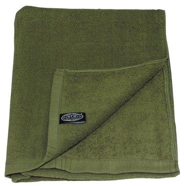 Bad handdoek legergroen, 110 x 50 CM