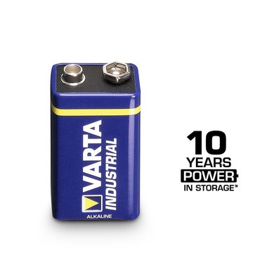 Varta 9V industrial block battery