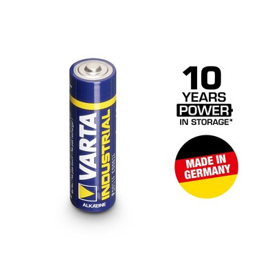 Varta industrial 1.5V mignon LR6 AA battery