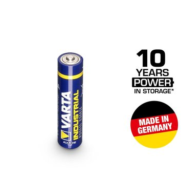 Varta industrial 1.5V micro AAA battery