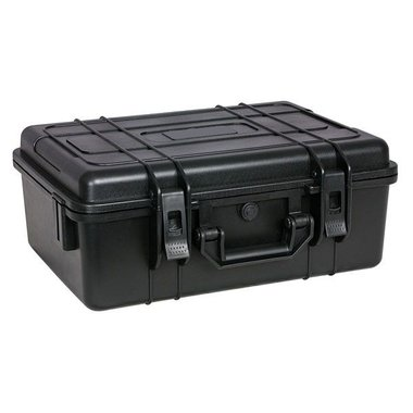 MDP Daily case 22 ABS transport case, zwart, IP-65