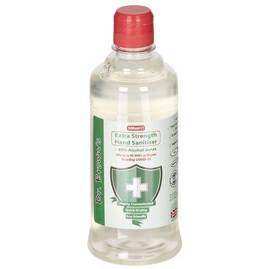 Dr. Brown's Desinfecterende handgel 500ml, 80% alcohol
