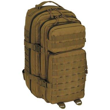 MFH US Rugzak 30l, Assault I, coyote tan