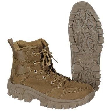 Commando boots halfhoog, coyote tan