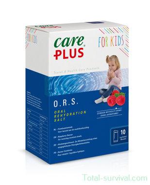 Care Plus O.R.S. – Oral Rehydration Salt, Children raspberry flavour