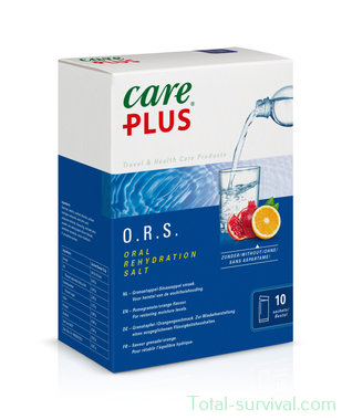Care Plus O.R.S. – Oral Rehydration Salt, pomegranate/orange flavour