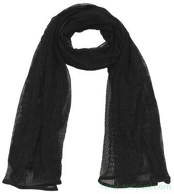 Netsjaal  / sniper sjaal zwart, 190 x 90 cm