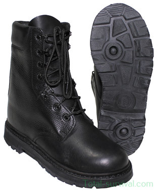 Legerkisten / boots Hollandse leger, hoog, zwart