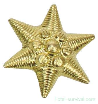 Hongaars leger metaal embleem, goudkleurig