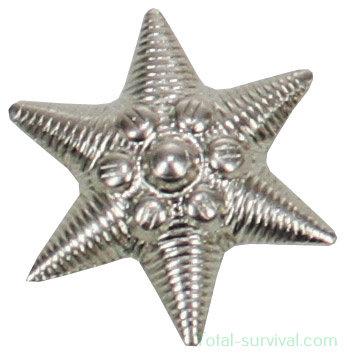 Hongaars leger metaal embleem, zilver