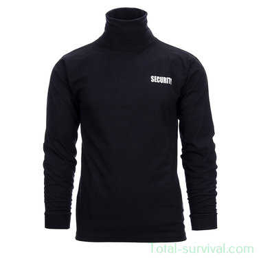 Fostex T-shirt security lange mouw, zwart