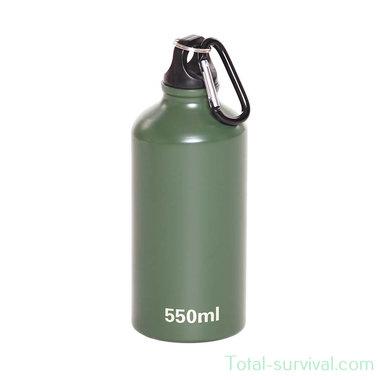 Fosco Aluminium fles 550ml, groen