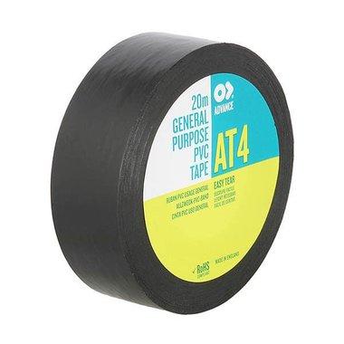 Advance AT4 PVC tape black 19MM/20M
