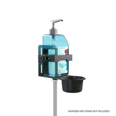 Gravity MA DIS 01 B Universal Disinfectant Holder Black