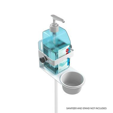 Gravity MA DIS 01 B Universal Disinfectant Holder White