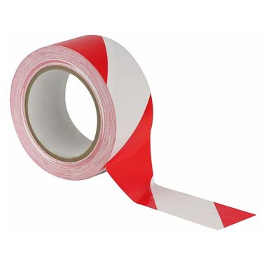 MDP Floor-Marking tape 50MM/33M rood / wit