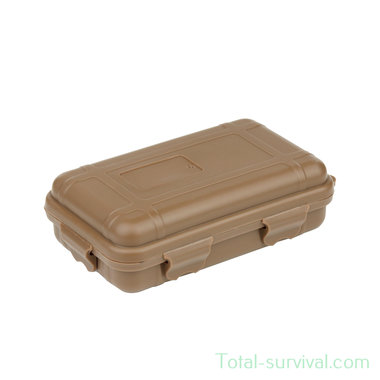 101 INC water resistant case small JFO12 coyote tan