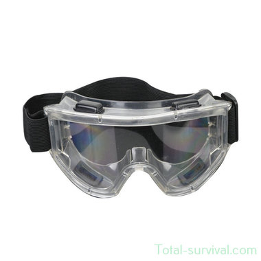 MDP Ruimzichtbril / Veiligheidsbril Transparant