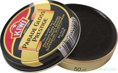 Kiwi Boot Polish 50ml, zwart