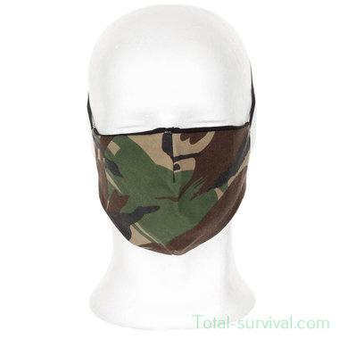 MFH herbruikbaar mondmasker, woodland camo