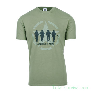 Fostex T-shirt Brothers in Arms, groen