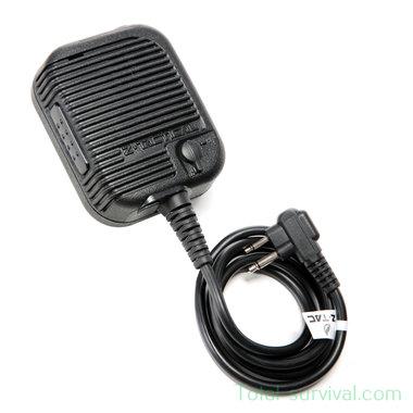Z-Tactical Z126 P.T.T. handmicrofoon Motorola 2-pens aansluiting