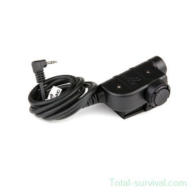 Z-Tactical Z125 zSilynx P.T.T. headset adapter ICOM  Motorola 1-pens aansluiting