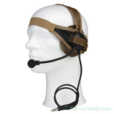 Z-Tactical zSelex TASC1 headset Z028, ICOM aansluiting