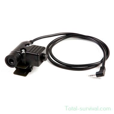 Z-Tactical Z113 zU94 P.T.T. headset adapter ICOM  Motorola 1-pens aansluiting