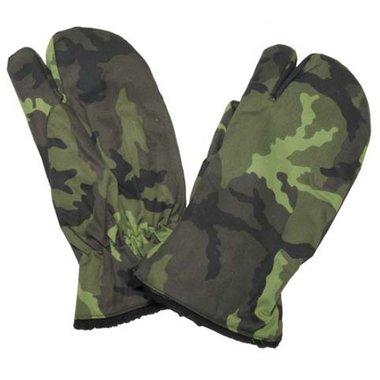 Tsjechische winter handschoenen, 3-vingers, M95 camo
