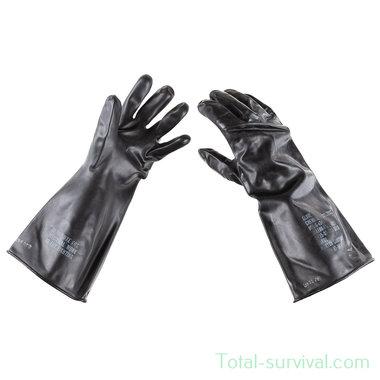 US NBC rubberen handschoenen zwart,
