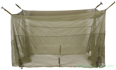 US muskietennet tent 5Mx2M, legergroen